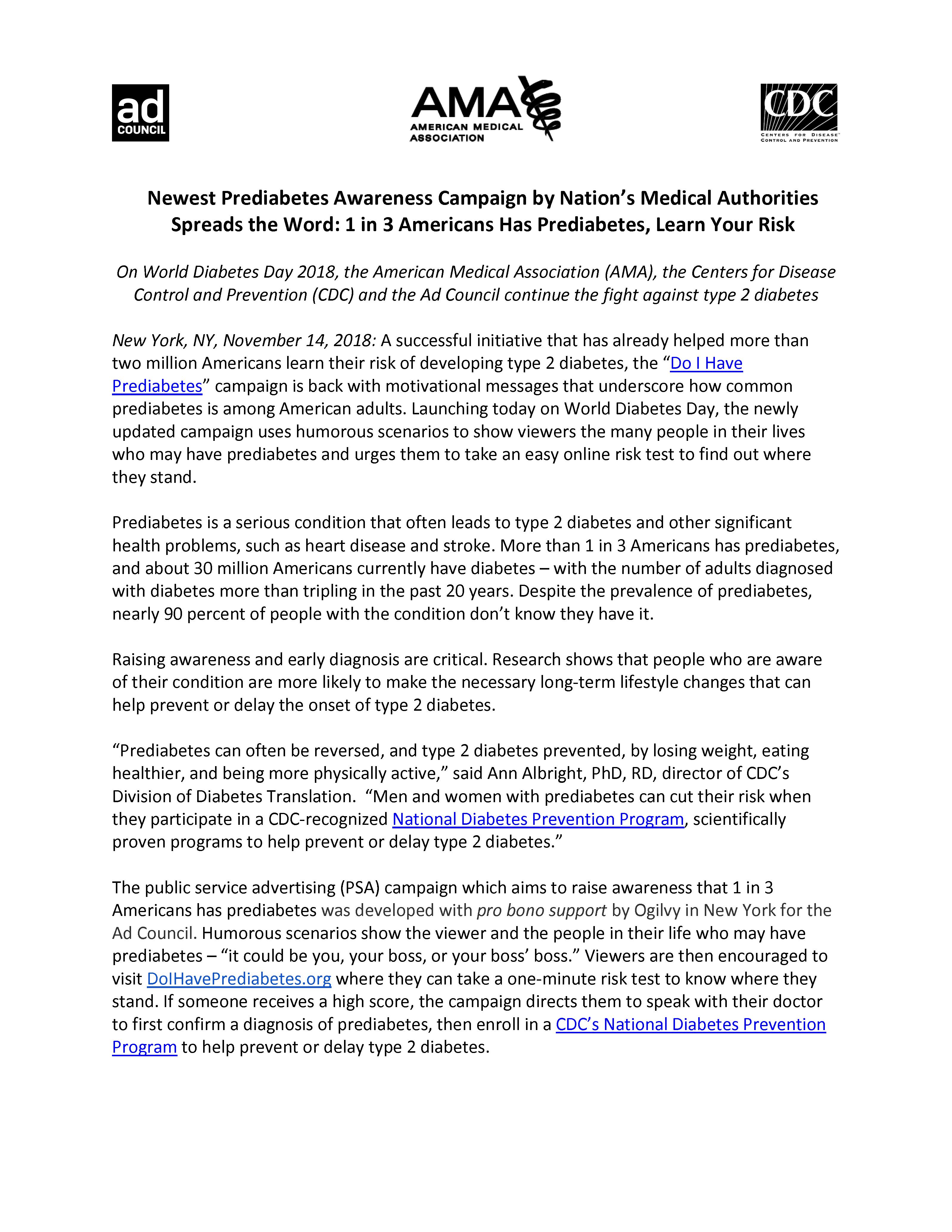 Prediabetes_Press_Release_Nov_2018_Page_1