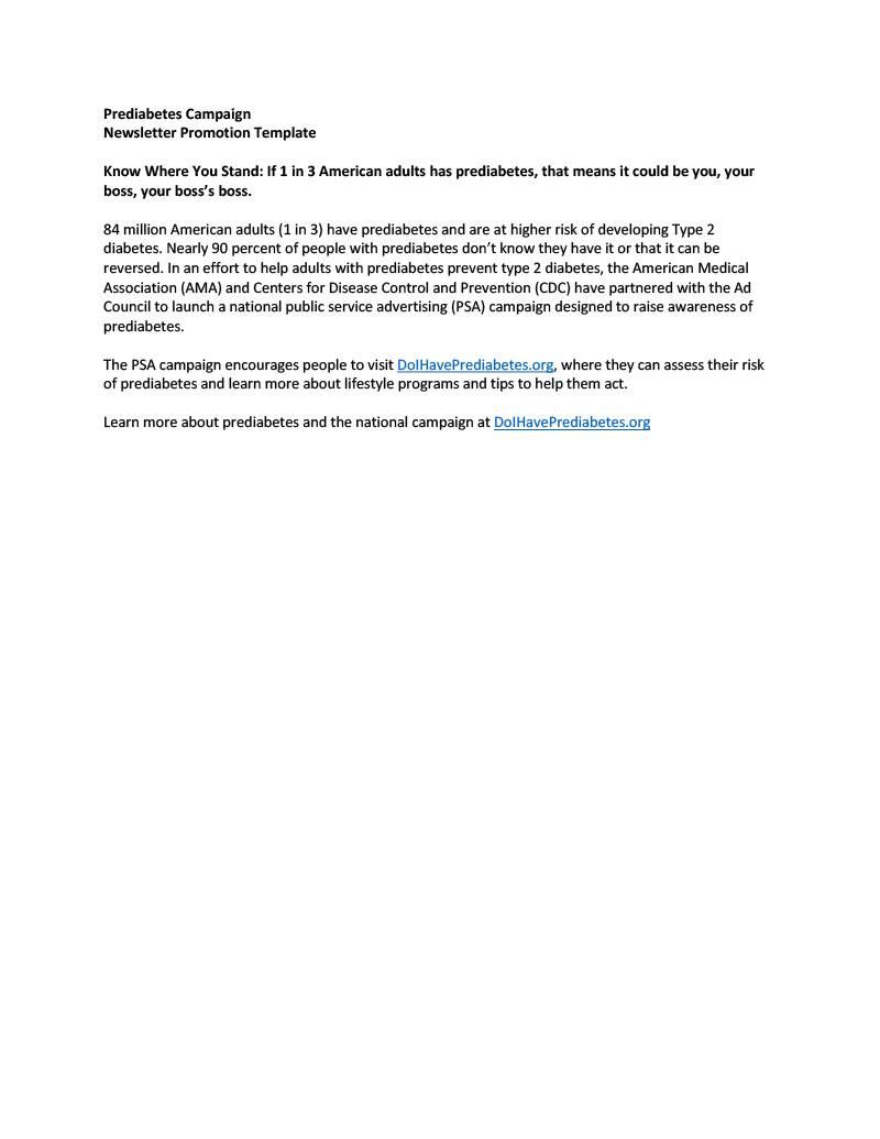 Type2DiabetesPrevention_NewsletterPromotionTemplate